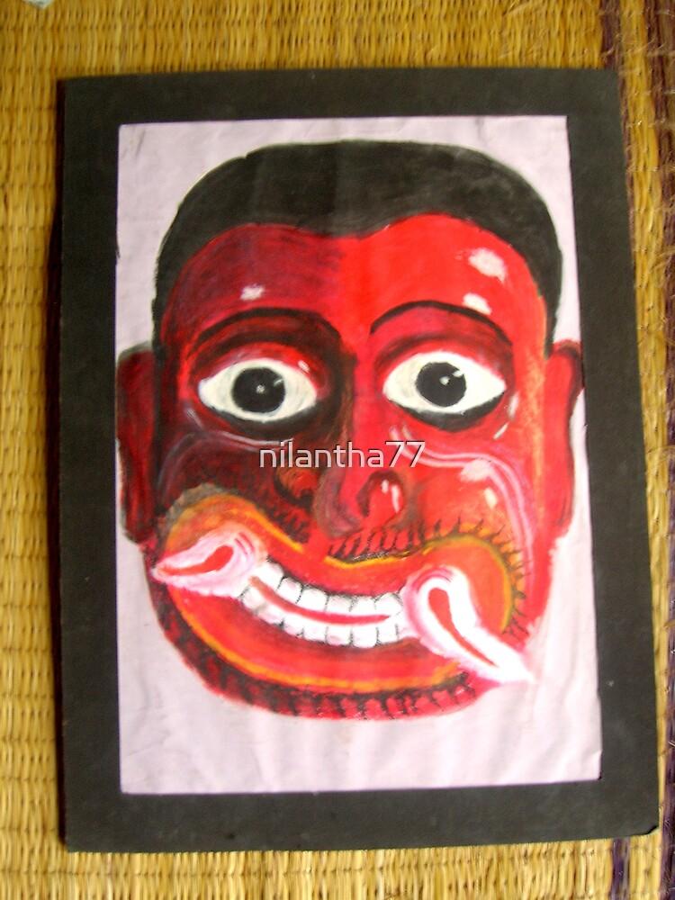 Kolam Muna (Mask) by nilantha77