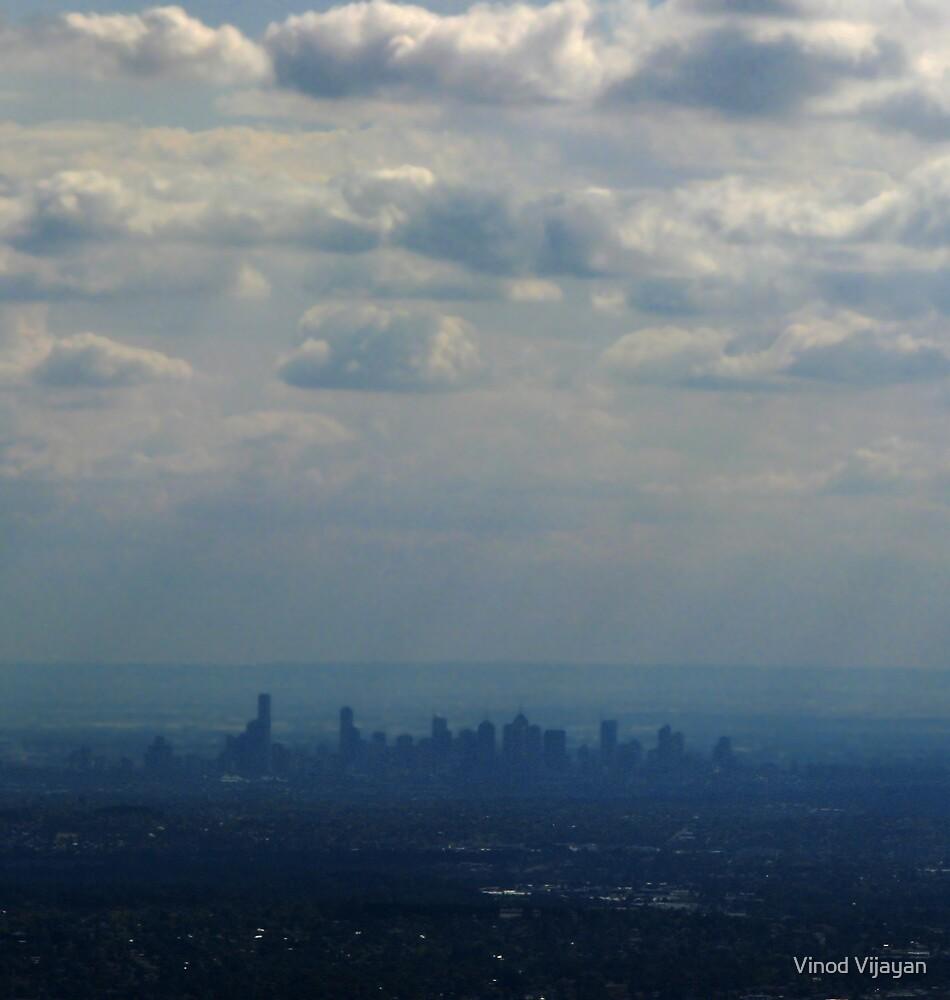 Melbourne-downunder clouds by Vinod Vijayan