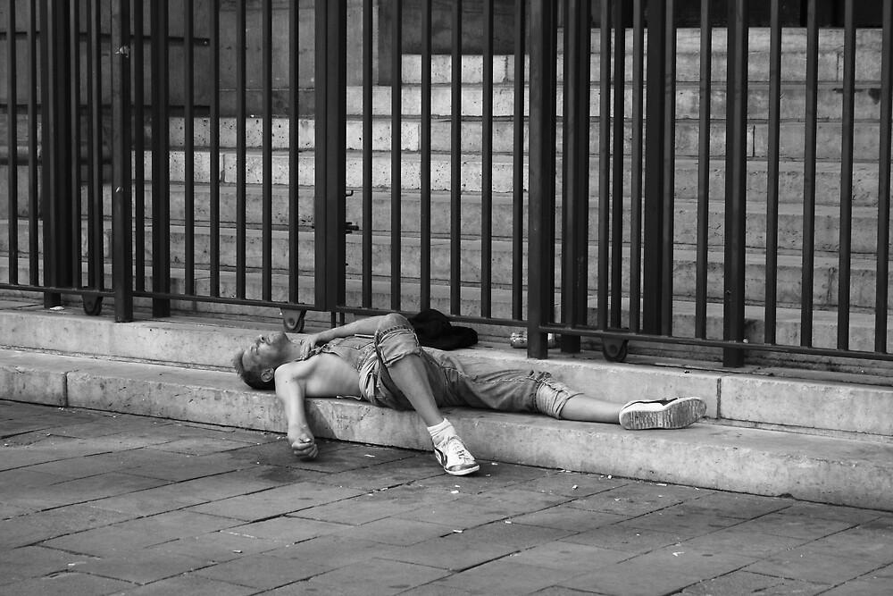 Asleep  by lemontree