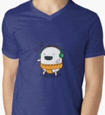 Sushi Tunes Men's V-Neck T-Shirt