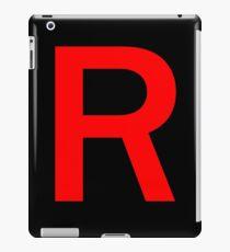 Team Rocket R iPad Case/Skin