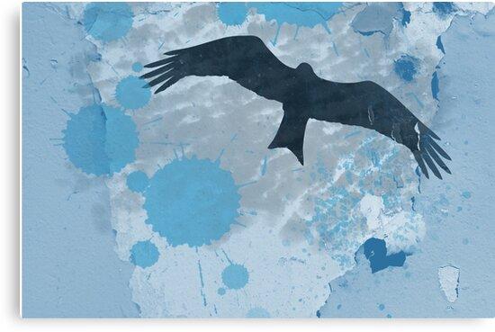 Bird In The Rain by Denis Marsili