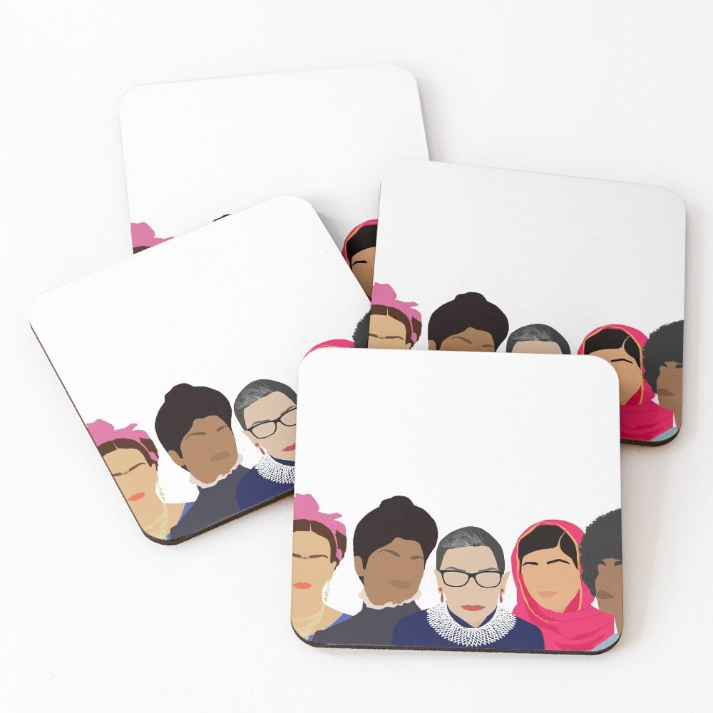 Feminist Girl Gang- Squad Goals Coasters (Set of 4)