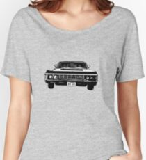 Supernatural 1967 Chevy Impala Women's Relaxed Fit T-Shirt