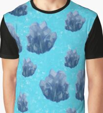 Blue Crystals Graphic T-Shirt