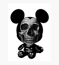Robby Mouse Doll Photographic Print