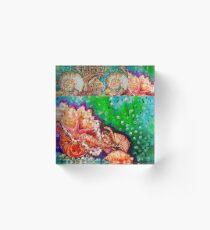 pauanui shells Acrylic Block
