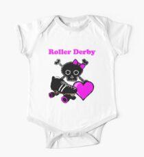 Roller Derby Heart (Pink) Kids Clothes
