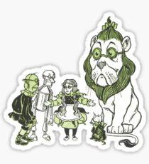Emerald City Sticker