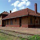 MKT Railroad Passenger Station by Glenna Walker