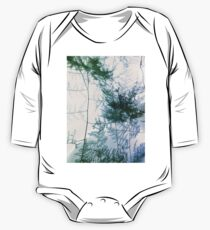 Fern Abstract One Piece - Long Sleeve