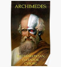 Archimedes Cyborg Poster