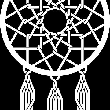 Celtic Dreamcatcher White by Thel0n