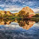 Buntes Colorado durch Lena Owens / OLena Kunst von OLena  Art ❣️
