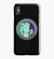 The Haunted Mansion (purple and green) iPhone Case