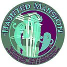 The Haunted Mansion (purple and green) by clockworkmonkey