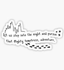 Pursue Adventure Sticker