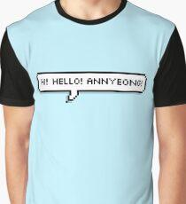 Shownu    Hi! Hello! Annyeong! Graphic T-Shirt