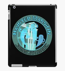 The Haunted Mansion (black and blue) iPad Case/Skin
