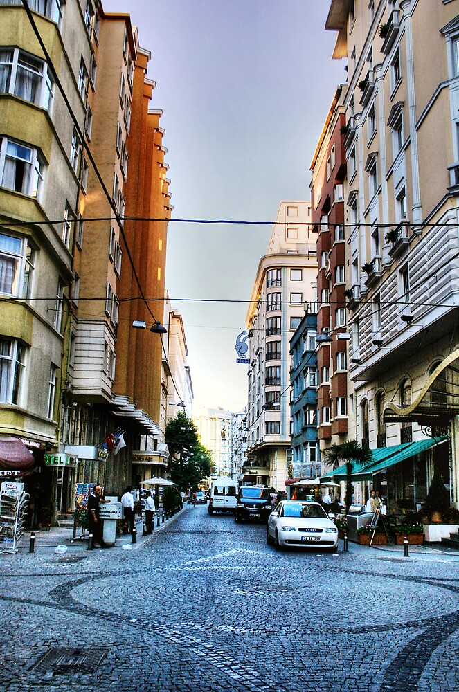 Streets of Istanbul by Gideon van Zyl