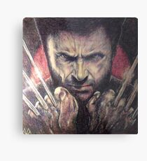 The wolverine Metal Print