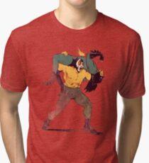 Lucha del Siglo Tri-blend T-Shirt
