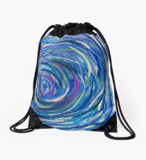 Long Gaze Drawstring Bag