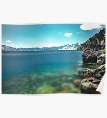 Crater Lake National Park - Flat Water Poster