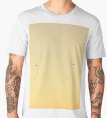 Summer Flight - Yellow Sunset Men's Premium T-Shirt