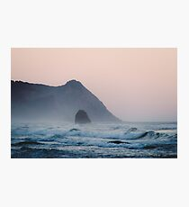 Pink Sky on the Pacific Coast Photographic Print