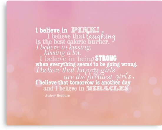 I believe in pink by creativemonsoon