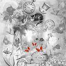 «Wonderland en blanco y negro» de maryedenoa