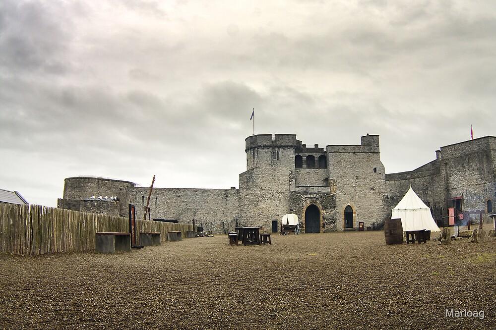 King John's Castle by Marloag