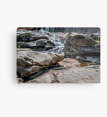 Shelburne Falls Metal Print
