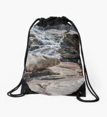 Shelburne Falls Drawstring Bag