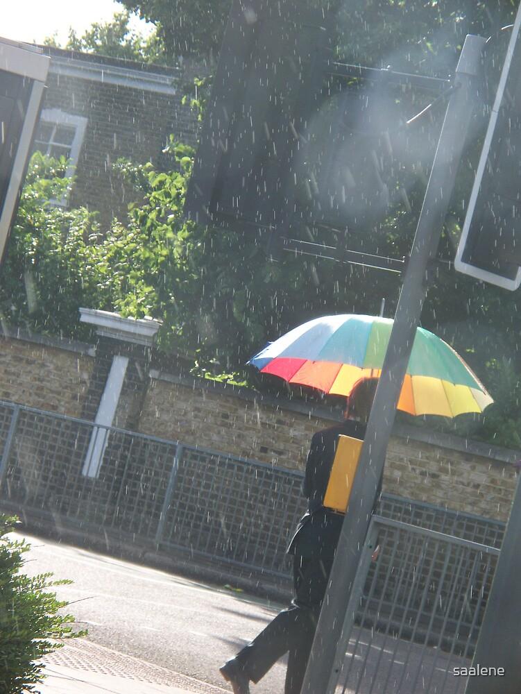 Sunshine and rainbows. by saalene