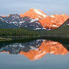 Mt. Gould at Sunrise, Glacier National Park by Gary Lengyel