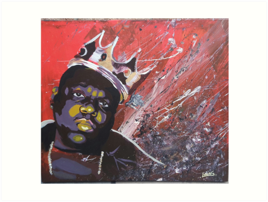Notorious BIG Biggie Smalls By Gashtags