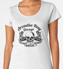 Arcadia Bay Garage - Life is strange Before the storm Women's Premium T-Shirt