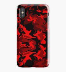 Red Hot Camo iPhone Case