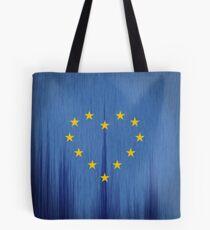 Europe, European Flag Design, Pro-EU Design, Anti-Brexit, heart-shaped, vintage look Tote Bag