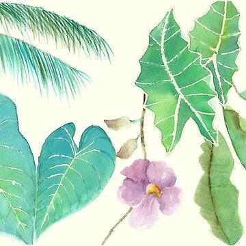 Tropical Combo by shashaluart