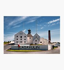 Islay: Lagavulin Photographic Print