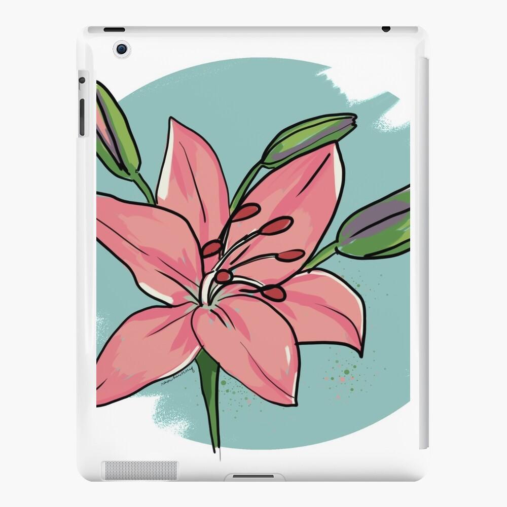 Lilie iPad-Hüllen & Klebefolien