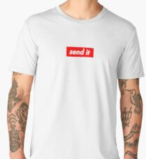 Send It Supreme Style Logo Design Men's Premium T-Shirt