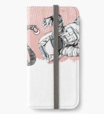 Astronaut iPhone Flip-Case/Hülle/Skin