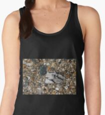 Pebbles in shallow water Women's Tank Top