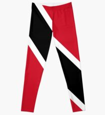 Trinidad Flag Mini Skirt Dress Leggings
