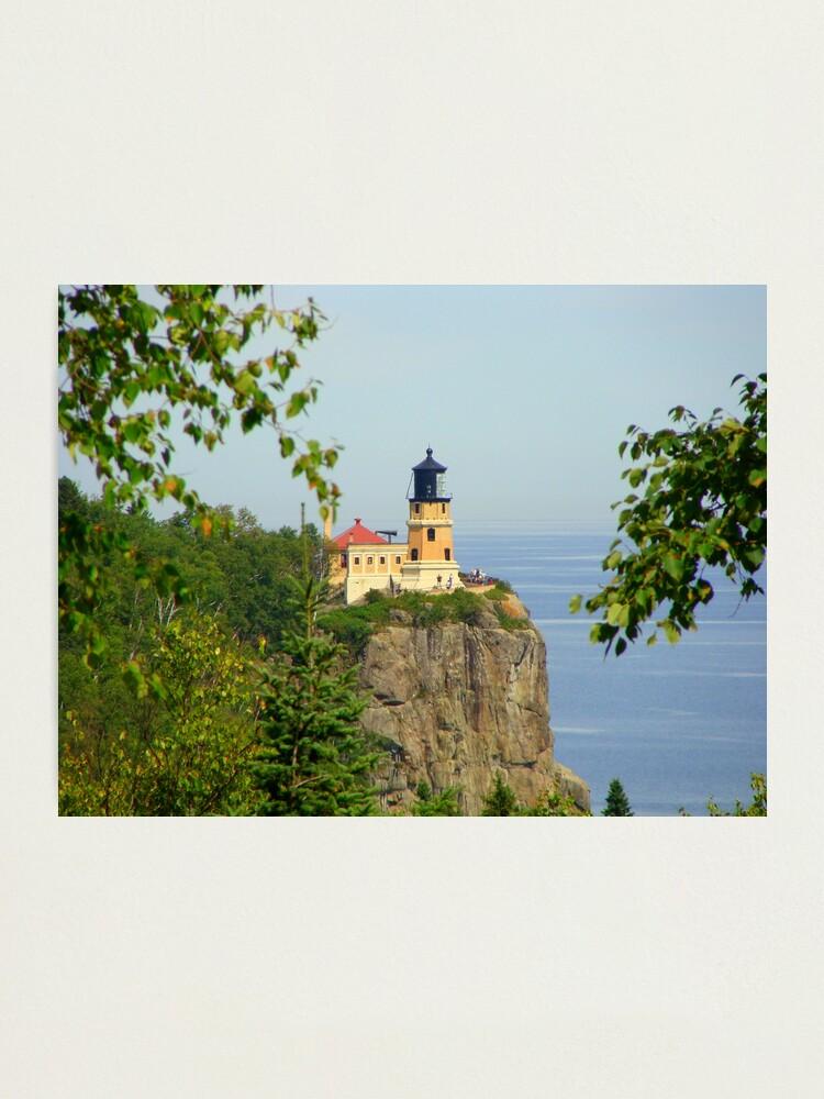 Alternate view of Split Rock Lighthouse Photographic Print