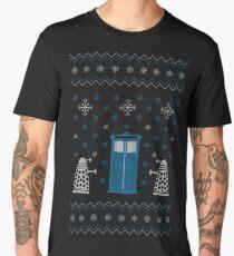 Christmas Doctor Who Men's Premium T-Shirt